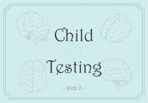 Child Testing | Step 2 of Academic Testing | Sheltering Oaks Counseling | Wesley Chapel, Florida 33544