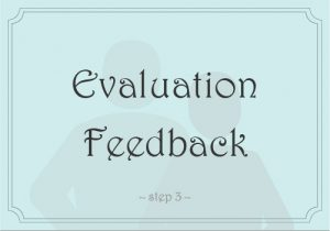 Evaluation Feedback | Step 3 of Academic Testing | Sheltering Oaks Counseling | Wesley Chapel, Florida 33544