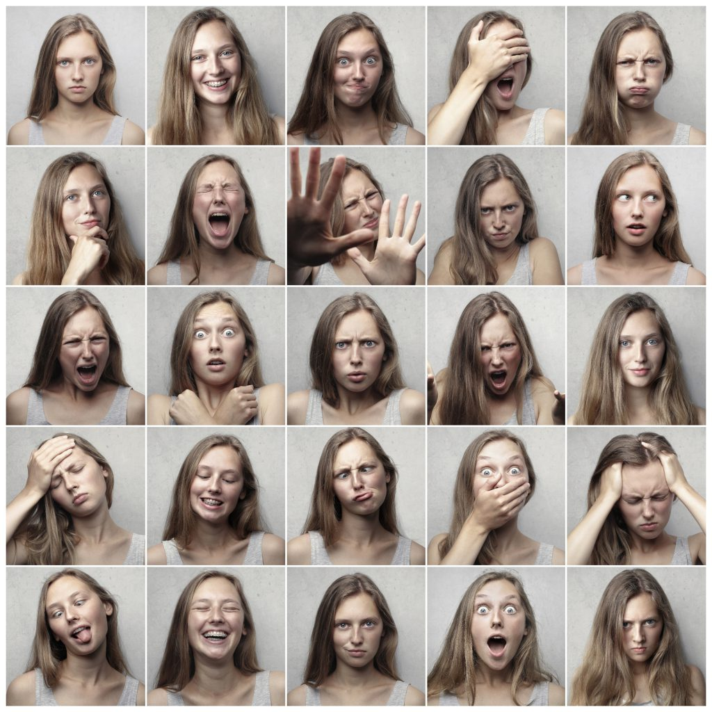 The many faces of a woman in emotional crisis. She may need parent personality assessment process. You can get personality testing in tampa, fl at Sheltering Oaks. Counseling and various personality testing near Tampa, FL is available here and with online therapy in Florida.