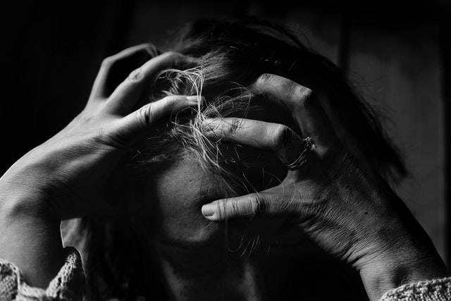 stressed woman || Treating Trauma || Sheltering Oaks Counseling || Wesley Chapel, FL