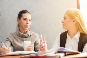 women talking || Sheltering Oaks Counseling || Wesley Chapel, FL