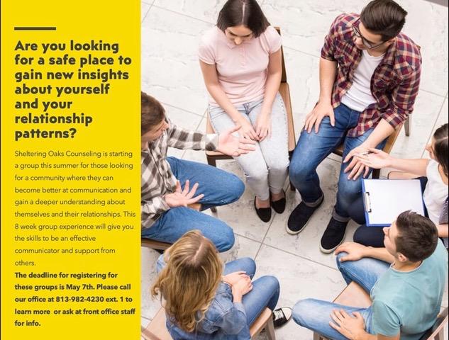 kids group b || Sheltering Oaks Counseling || Wesley Chapel, FL